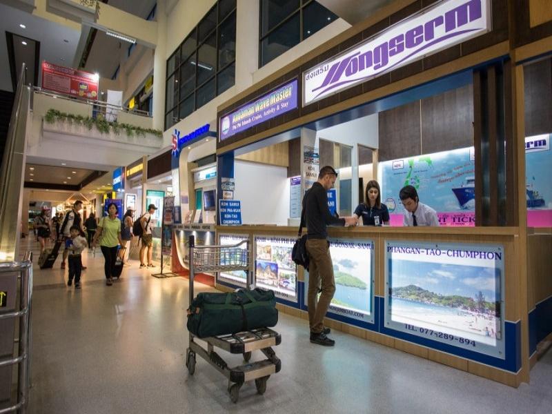 Suratthani Airport 11:00 - Koh Phangan 16:30